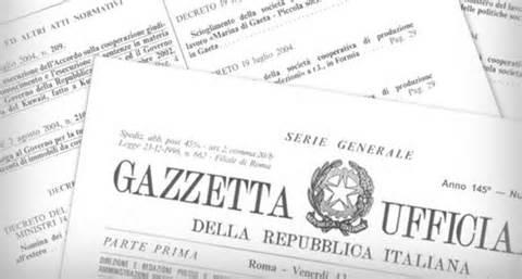 gazzetta-ufficiale-decree