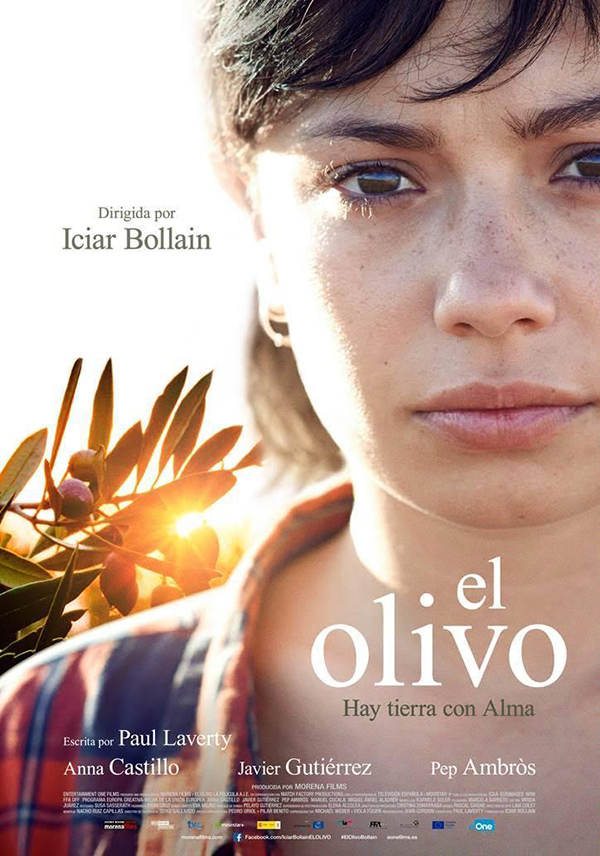 "Poster of the movie ""El Olivo"" by Iciair Bollain"