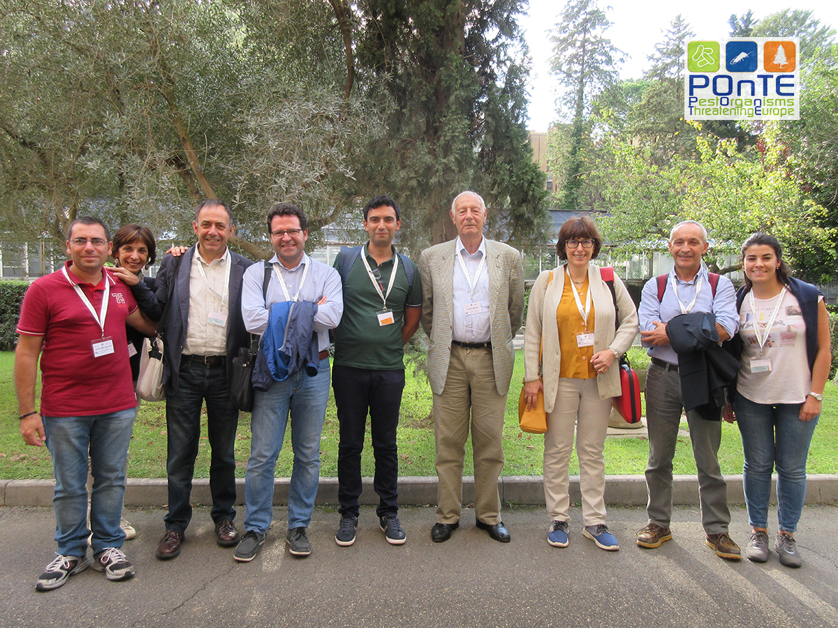 Researchers from CNR-IPSP and Agritest Srl at XXII SIPAV Congress in Rome